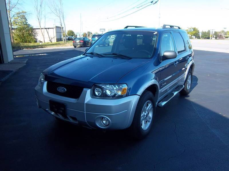 2007 Ford Escape Hybrid for sale at Brian's Sales and Service in Rochester NY