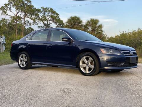 2013 Volkswagen Passat for sale at D & D Used Cars in New Port Richey FL