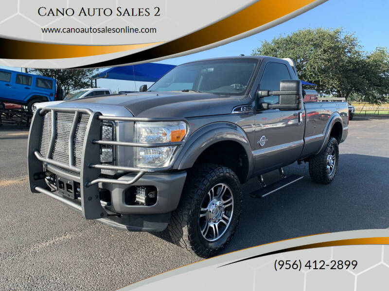 2013 Ford F-250 Super Duty for sale at Cano Auto Sales 2 in Harlingen TX