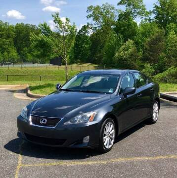2006 Lexus IS 250 for sale at ONE NATION AUTO SALE LLC in Fredericksburg VA