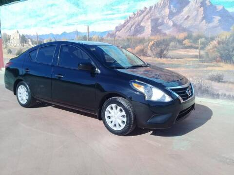 2019 Nissan Versa for sale at Dreamline Motors in Coolidge AZ