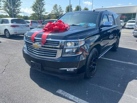 2015 Chevrolet Suburban for sale at Charlotte Auto Group, Inc in Monroe NC