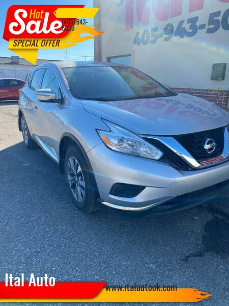2017 Nissan Murano for sale at Ital Auto in Oklahoma City OK