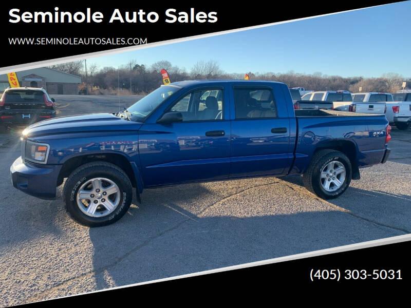 2011 RAM Dakota for sale at Seminole Auto Sales in Seminole OK