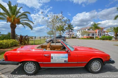 1982 Mercedes-Benz SL-Class for sale at Top Classic Cars LLC in Fort Myers FL