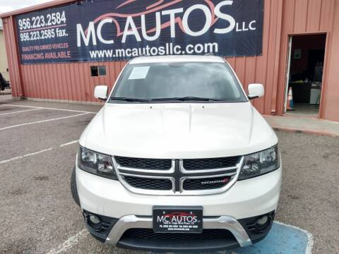 2015 Dodge Journey for sale at MC Autos LLC in Pharr TX