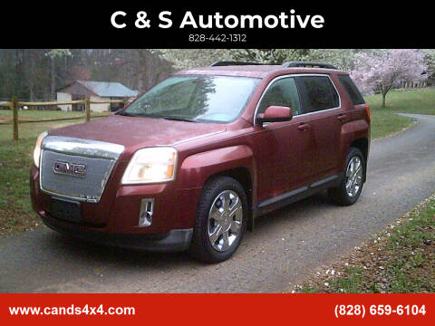 2010 GMC Terrain for sale at C & S Automotive in Nebo NC
