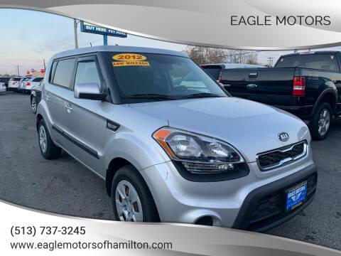 2012 Kia Soul for sale at Eagle Motors in Hamilton OH