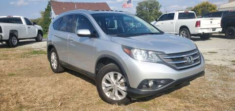 2014 Honda CR-V for sale at Sinclair Auto Inc. in Pendleton IN
