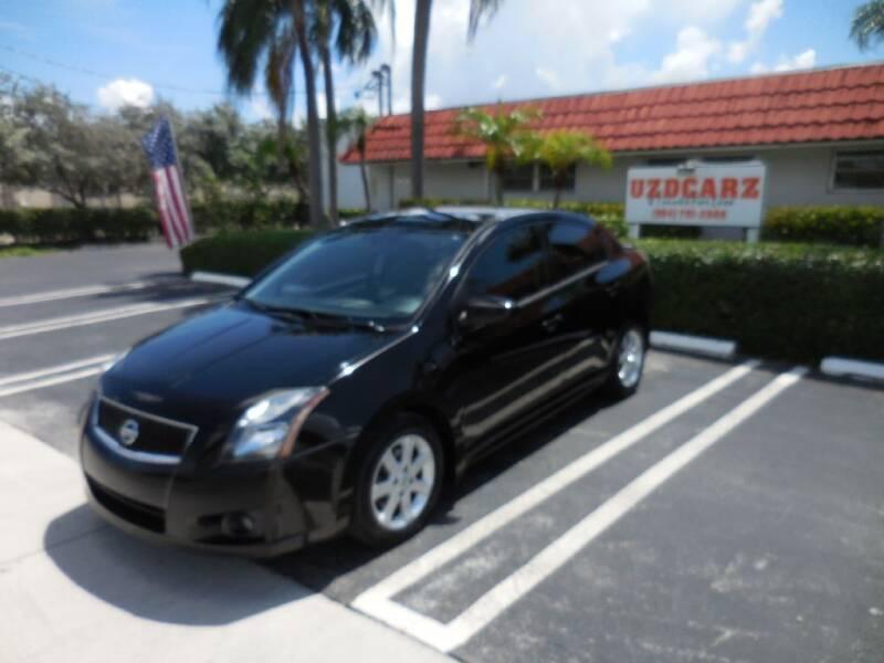 2012 Nissan Sentra for sale at Uzdcarz Inc. in Pompano Beach FL