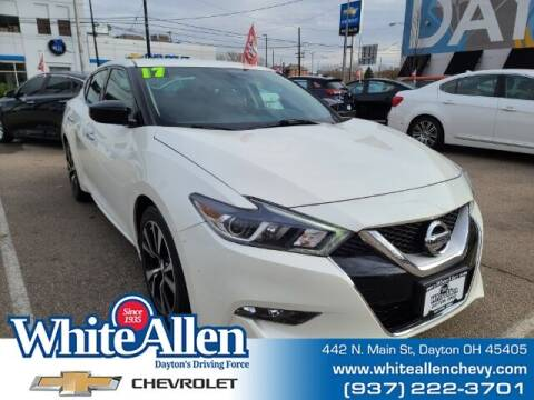 2017 Nissan Maxima for sale at WHITE-ALLEN CHEVROLET in Dayton OH