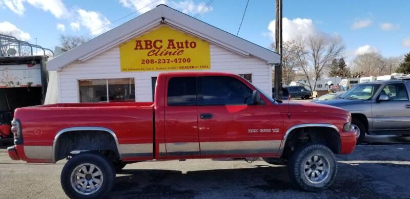 2000 Dodge Ram Pickup 1500 for sale at ABC AUTO CLINIC - Chubbuck in Chubbuck ID