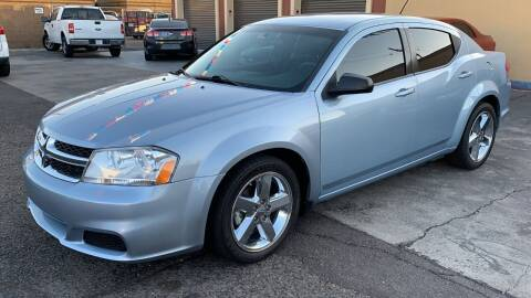 2013 Dodge Avenger for sale at 911 AUTO SALES LLC in Glendale AZ