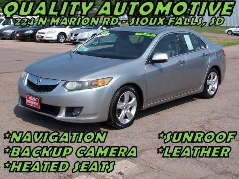 2010 Acura TSX for sale at Quality Automotive in Sioux Falls SD