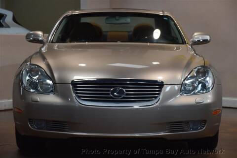 2002 Lexus SC 430 for sale at Tampa Bay AutoNetwork in Tampa FL