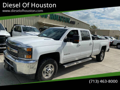 2016 Chevrolet Silverado 2500HD for sale at Diesel Of Houston in Houston TX