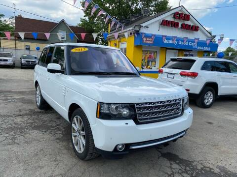 2012 Land Rover Range Rover for sale at C & M Auto Sales in Detroit MI
