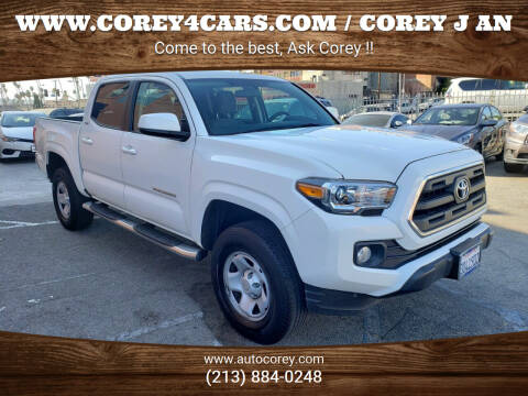 2017 Toyota Tacoma for sale at WWW.COREY4CARS.COM / COREY J AN in Los Angeles CA