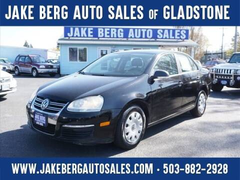 2006 Volkswagen Jetta for sale at Jake Berg Auto Sales in Gladstone OR