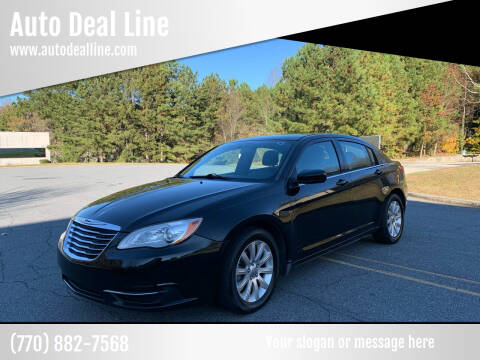 2013 Chrysler 200 for sale at Auto Deal Line in Alpharetta GA