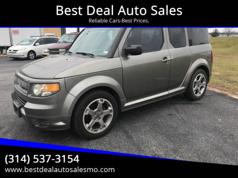 2007 Honda Element for sale at Best Deal Auto Sales in Saint Charles MO