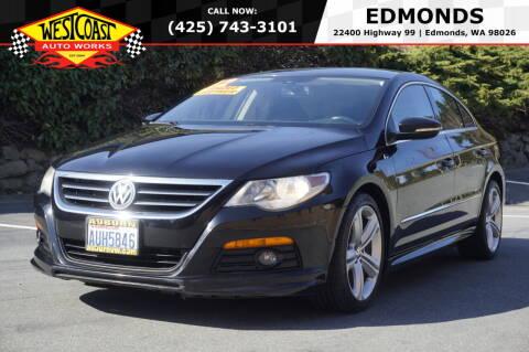 2012 Volkswagen CC for sale at West Coast Auto Works in Edmonds WA