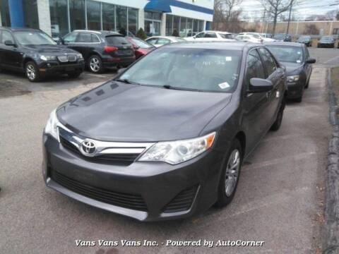 2014 Toyota Camry for sale at Vans Vans Vans INC in Blauvelt NY