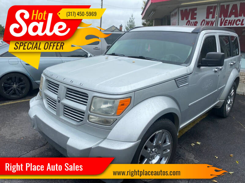 2008 Dodge Nitro for sale at Right Place Auto Sales in Indianapolis IN