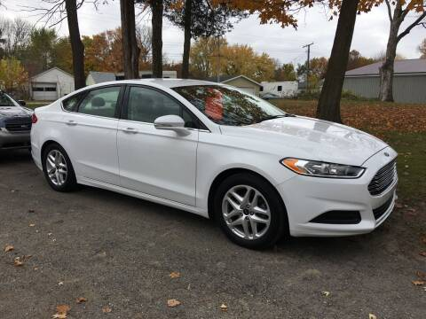 2016 Ford Fusion for sale at Antique Motors in Plymouth IN