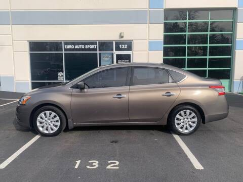 2015 Nissan Sentra for sale at Euro Auto Sport in Chantilly VA
