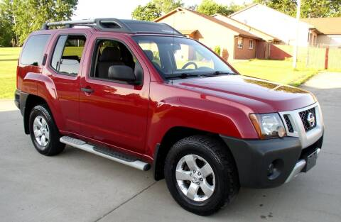 2009 Nissan Xterra for sale at Angelo's Auto Sales in Lowellville OH