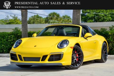 2019 Porsche 911 for sale at Presidential Auto  Sales & Service in Delray Beach FL