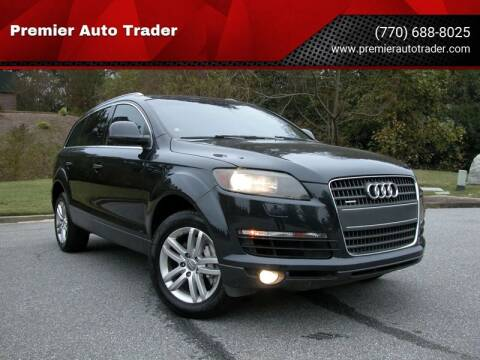 2008 Audi Q7 for sale at Premier Auto Trader in Alpharetta GA