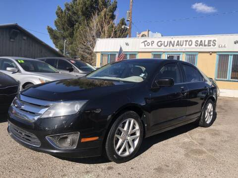 2010 Ford Fusion for sale at Top Gun Auto Sales, LLC in Albuquerque NM
