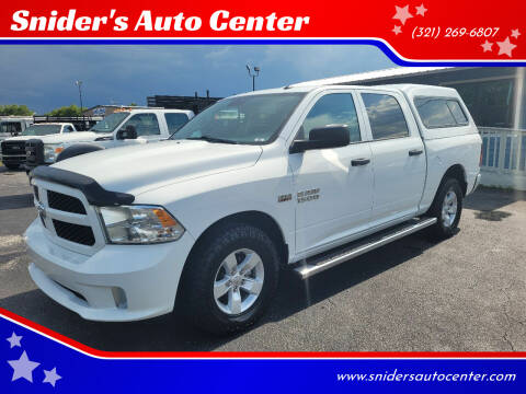 2016 RAM Ram Pickup 1500 for sale at Snider's Auto Center in Titusville FL