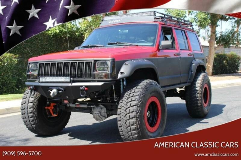 1996 Jeep Cherokee for sale at American Classic Cars in La Verne CA