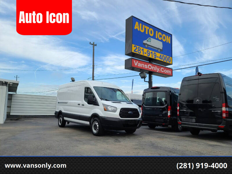 2019 Ford Transit Cargo for sale at Auto Icon in Houston TX