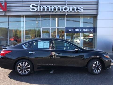 2016 Nissan Altima for sale at SIMMONS NISSAN INC in Mount Airy NC
