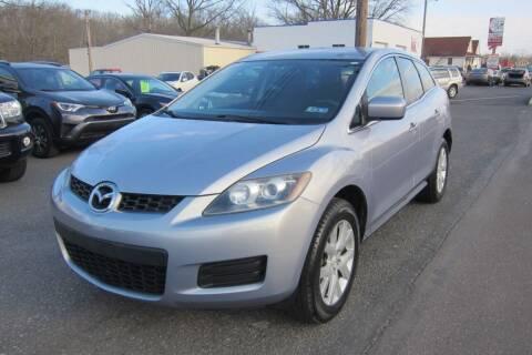 2008 Mazda CX-7 for sale at K & R Auto Sales,Inc in Quakertown PA