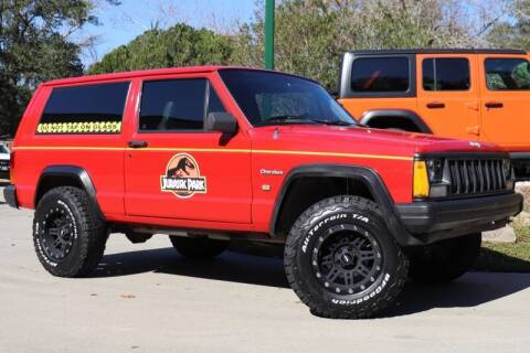 1996 Jeep Cherokee for sale at SELECT JEEPS INC in League City TX