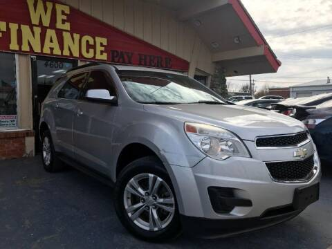 2010 Chevrolet Equinox for sale at Caspian Auto Sales in Oklahoma City OK