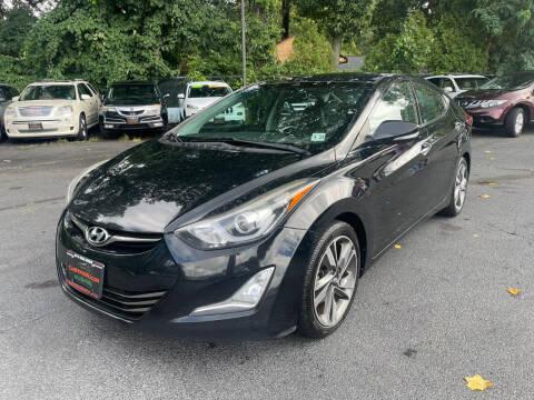 2014 Hyundai Elantra for sale at The Car House in Butler NJ