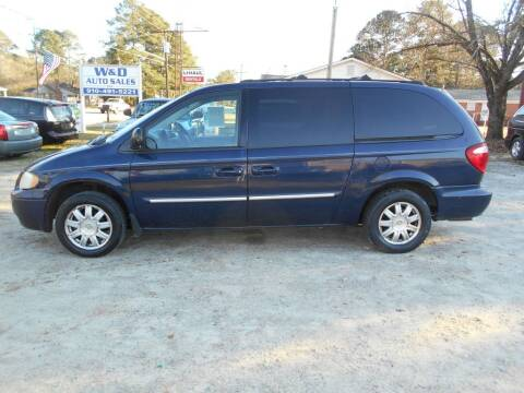 2005 Chrysler Town and Country for sale at W & D Auto Sales in Fayetteville NC