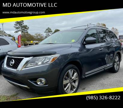 2014 Nissan Pathfinder for sale at MD AUTOMOTIVE LLC in Slidell LA