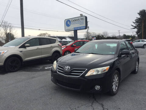 2010 Toyota Camry for sale at R J Cackovic Auto Sales, Service & Rental in Harrisburg PA