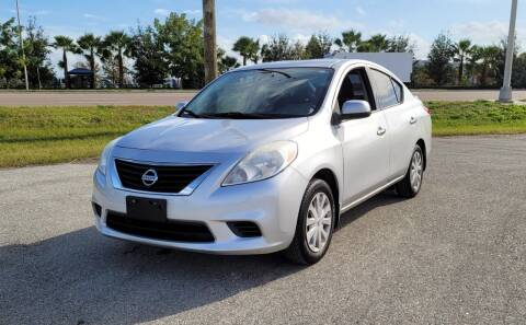 2014 Nissan Versa for sale at FLORIDA USED CARS INC in Fort Myers FL