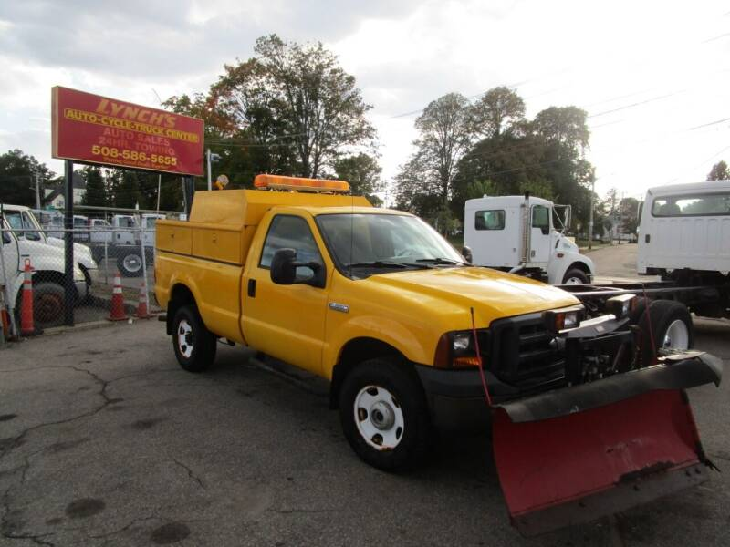 2006 Ford F350 XL SuperDuty for sale at Lynch's Auto - Cycle - Truck Center in Brockton MA