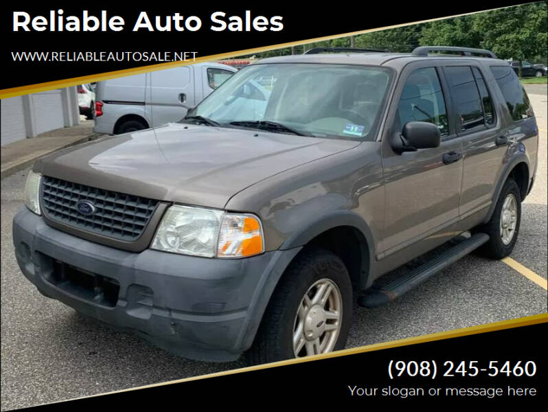 2003 Ford Explorer for sale at Reliable Auto Sales in Roselle NJ