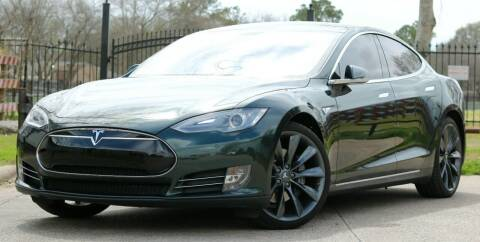 2014 Tesla Model S for sale at Texas Auto Corporation in Houston TX