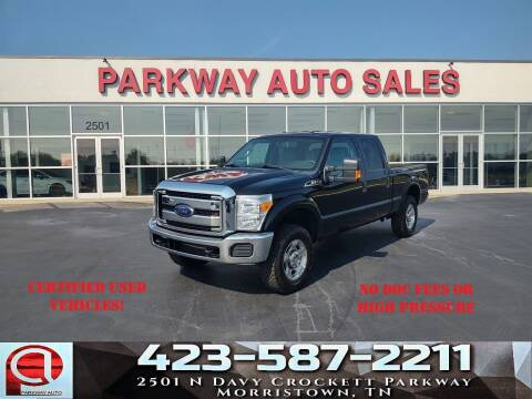 2016 Ford F-250 Super Duty for sale at Parkway Auto Sales, Inc. in Morristown TN